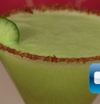 Receta en video de Martini de Pepino